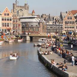 Belgium- Ghent Graslei