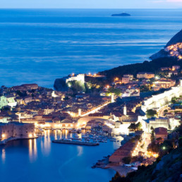 Croatia- Dubrovnik at night