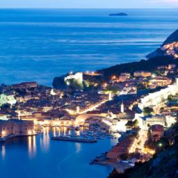Croatia- Dubrovnik at night