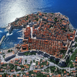 Croatia- Dubrovnik bird view