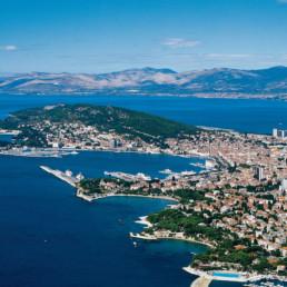 Croatia- split bird view