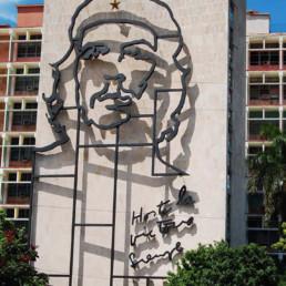 Cuba- Fachada Che
