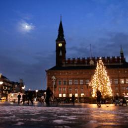 Denmark - Christmas time Rådhuspladsen, Copenhagen