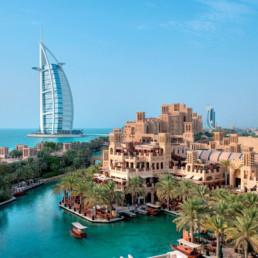 Dubai-Madinat Jumeirah Mina a Salam Exterior View