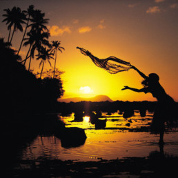 Fiji- Sunset Fishing