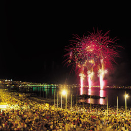 France- La-Fayette French Riviera International Fireworks Festival Cannes