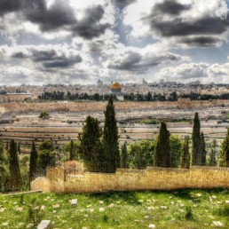 Israel - View of the Old City from the Mount of Olives