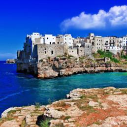 Italy- Apulia Coast Line