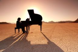 Jordan- Grand Piano Wadi Rum Sunset