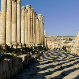 Jordan- Roman city of Jarash