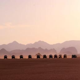 Jordan- Wadi Rum Sunset