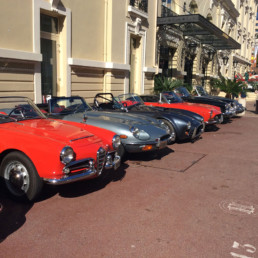 Monaco- Classical car Rally