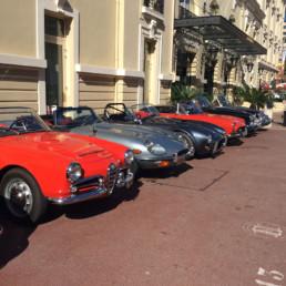 Monaco- Classical car Rally