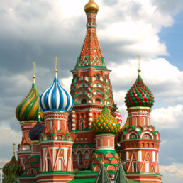 Russia Moscow St Basil's Cathedral