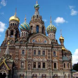 Russia St.-Pet. Church on Spilled Blood