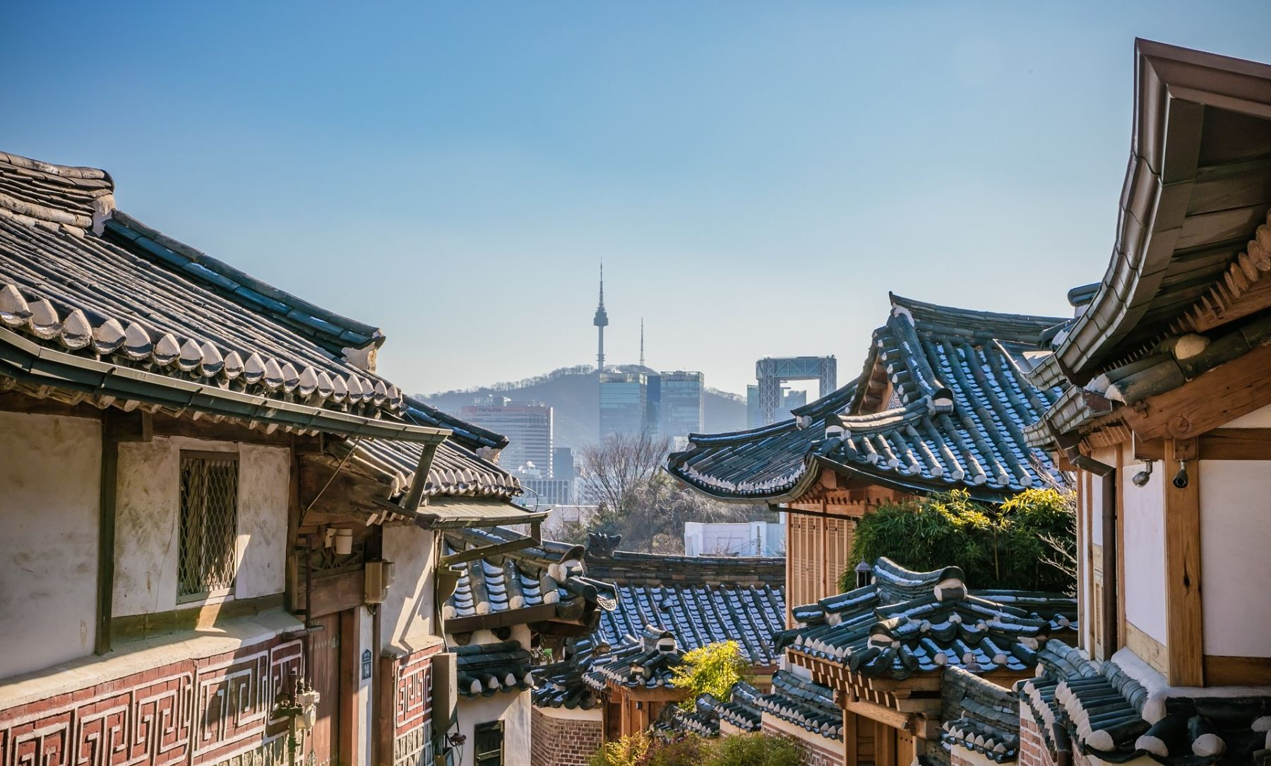 Seoul Korea Downtown Stock Video Footage - Storyblocks