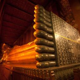 Thailand Wat Pho Declining Buddha