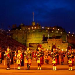 United Kingdom Scotland Edinburgh Tattoo