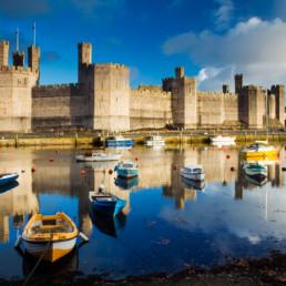Wales - Caermarfon Castle