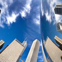 Chicago - USA - Bean reflection